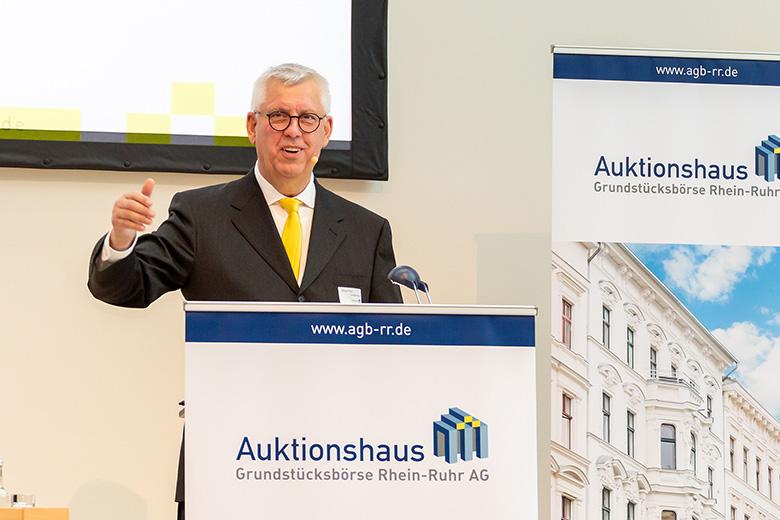 Auktionator Klaus-Peter Großmann