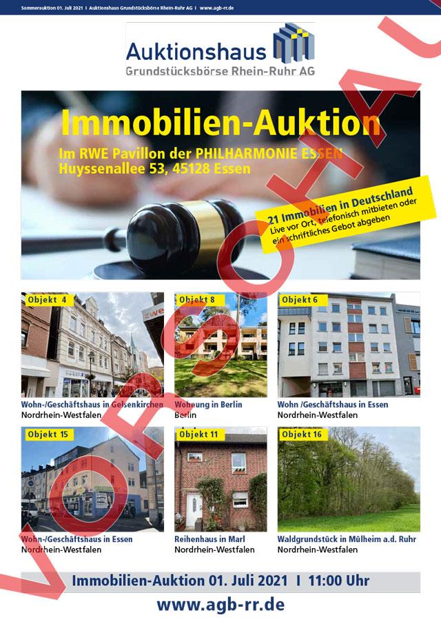Vorschau Auktionskatalog Sommerauktion 2021
